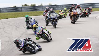 MotoAmerica EBC Brakes Superbike Race 1 at Pittsburgh
