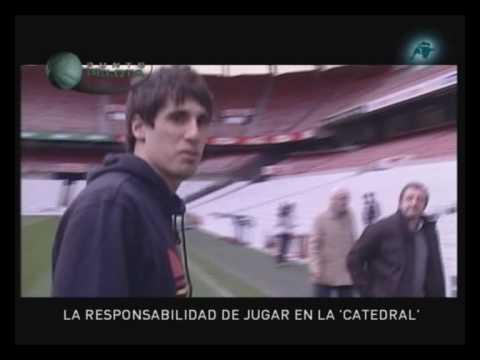Punto Pelota con Javi Martinez del Athletic en Bilbao 1/2