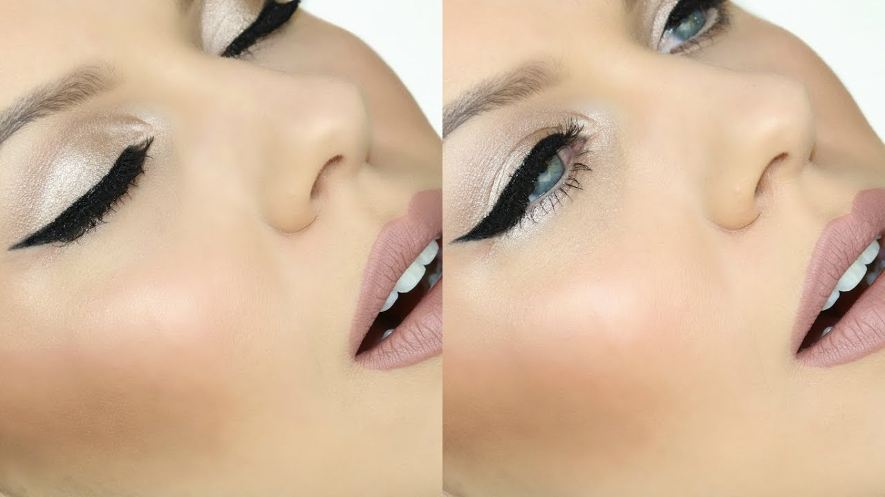 Simple Glowing Makeup Using Only One Eyeshadow Youtube