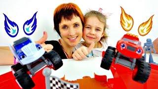 Чудо-машинки на трассе. Видео для детей.
