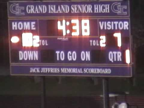 Grand Island 24 vs Omaha Central 34 - 2011