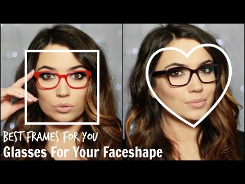 Best Glasses For Your Face Shape | TheMakeupChair AD