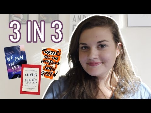 3 REVIEWS IN 3 MINUTES // Booktube