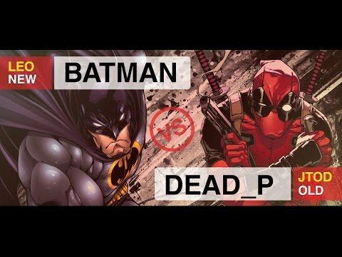 BATMAN VS DEADPOOL RAP BATTLE