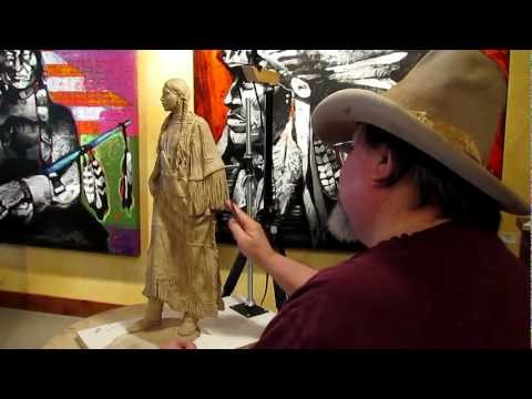 Sculpture Tutorial - New Beginnings - Final Day in the Gallery in Jackson Wyoming