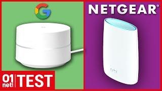 Netgear Orbi ou Google Wi-Fi , quel est le meilleur pour étendre votre Wi-FI à la maison ?
