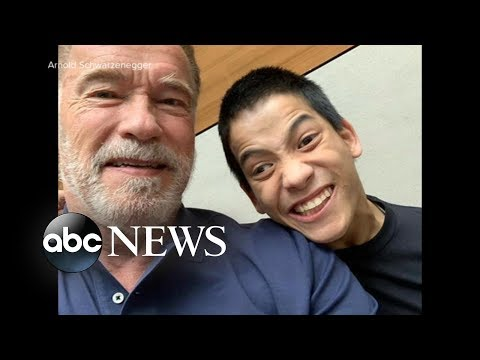 Arnold Schwarzenegger has 'a new hero' -- a bodybuilder with cerebral palsy