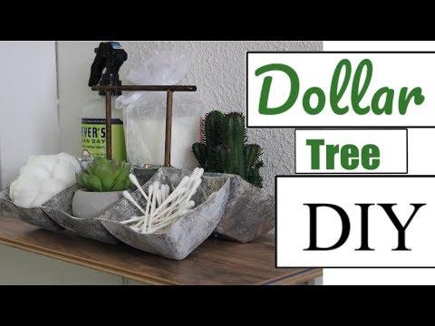 "DOLLAR TREE DIY | RUSTIC ""METAL"" TRAY |2018"