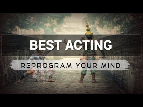 Positive Affirmations for Actors - Law of attraction - Hypnosis - Subliminal