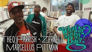 Theo Parrish, Zernell & Marcellus Pittman - What's In My Bag?