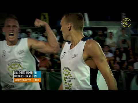 Riga Ghetto Basket Mixtape - Winners of Raiffeisen Bank Bucharest Challenger 2017