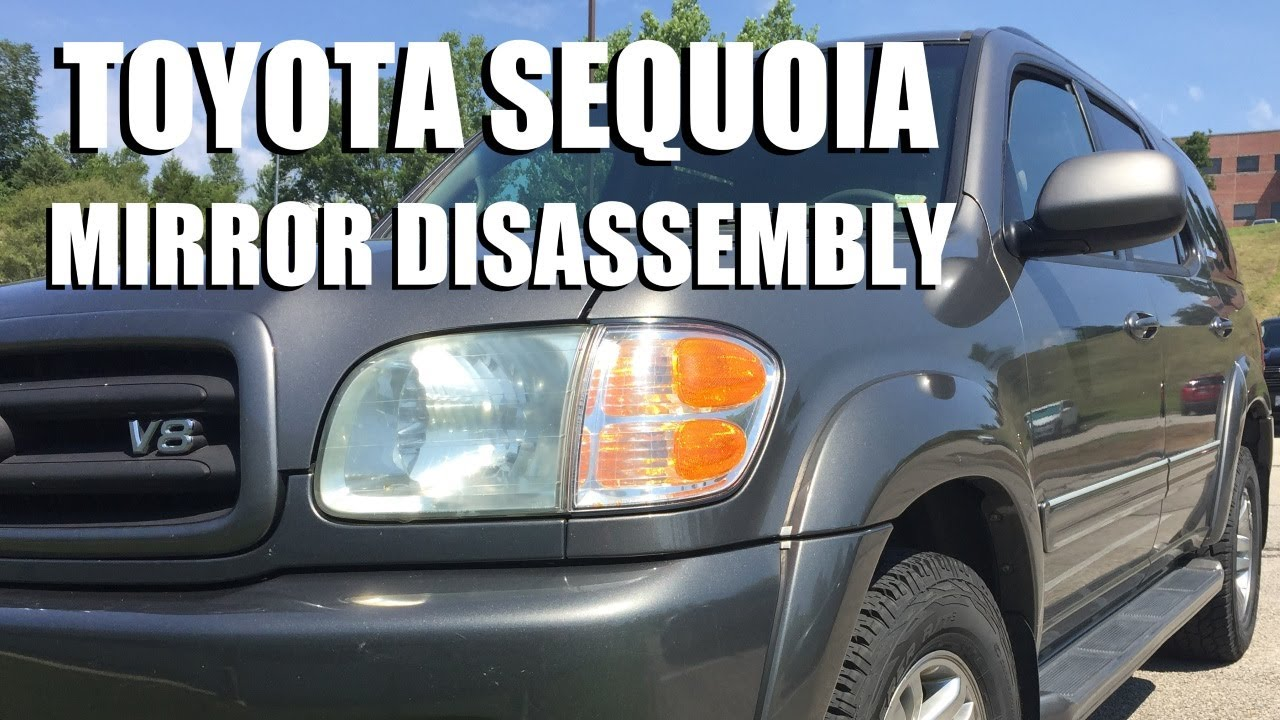 Toyota Sequoia Folding Mirror Disassembly Youtube Power Wiring Diagram