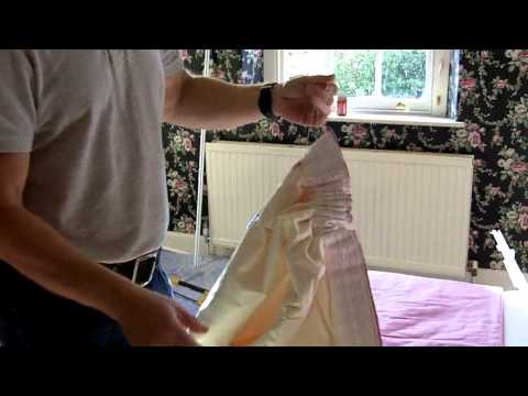 How to prepare pencil pleat curtains ready for hanging