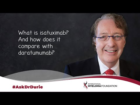 What is isatuximab? And how does it compare with daratumumab?
