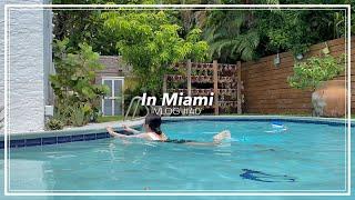 Eng) 미국 여행 vlog   수영장에서 수영하기 근…