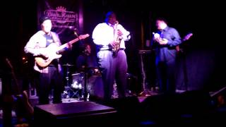 Brian Miller Sax Solo - Billy Thompson Band/POUR HOUSE Raleigh 3/2 2014