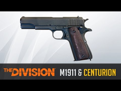 The Division Weapon Guide - Browning M1911 and Centurion (Statistics, Variants and Class Set-Up)