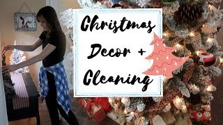 Christmas Home Decor Tour 2017 + Cleaning Motivation! Vlogmas Day 8