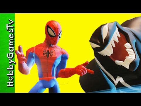 Spider-Man Venom Battlegrounds Disney Infinity 3 0 Groot HobbyGamesTV