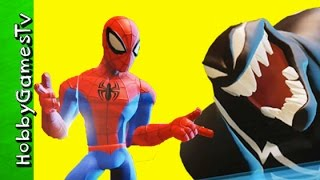 Spider-Man Venom Battlegrounds Disney Infinity 3 0 Groot HobbyGamesTV