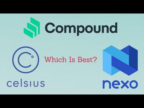 Celcius Vs NEXO Vs Compound Finance - Which Platform Is Best?