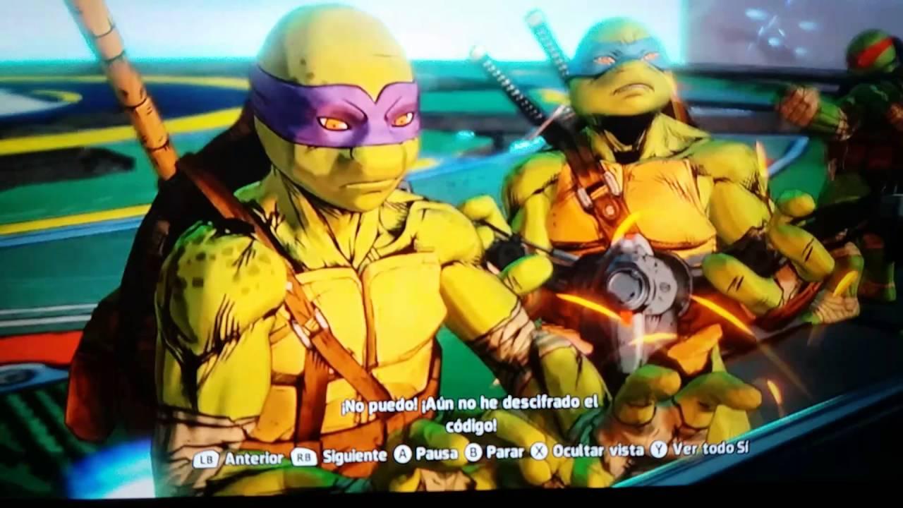 El final del juego tortugas Ninjapara la XBOX ONE  YouTube