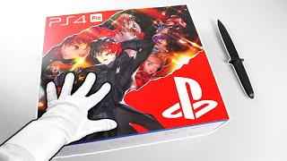 I Received A PlayStation Package from Japan... Unboxing PS4 Pro Persona 5 Royal Console