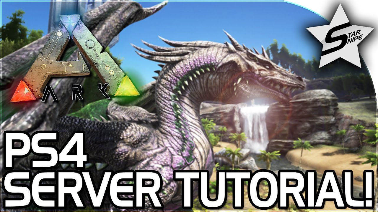 ARK: Survival Evolved - PS4 Servers & Admin Commands