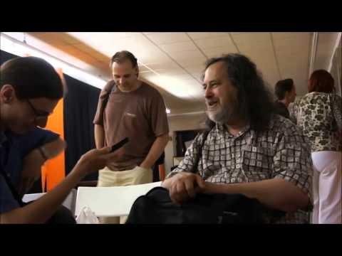 """I've never installed gnu/linux"" - Richard Stallman"