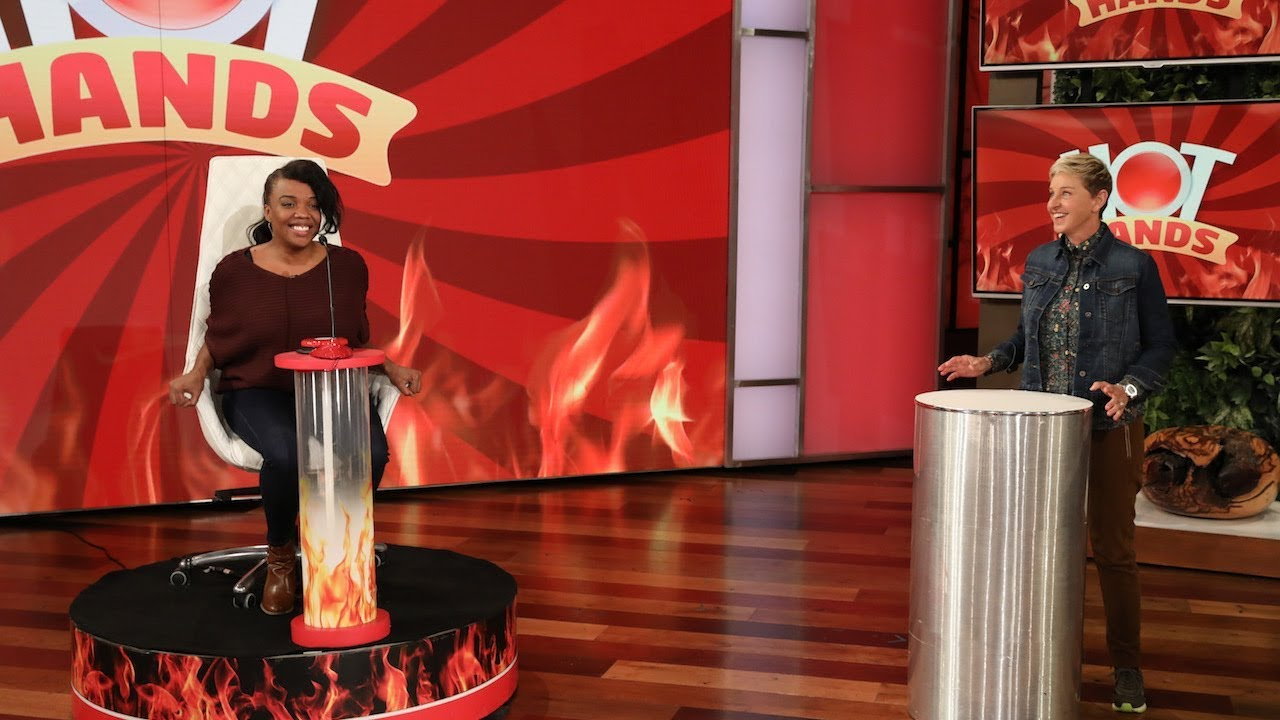 Ellen Gives a Single Mom an Incredible 'Hot Hands' Prize