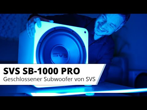 Vorstellung SVS SB-1000 Pro Subwoofer - Stark verbesserter geschlossener Subwoofer im Test