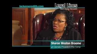 Sharon Weston Broome, Louisiana Senate President Pro Temp, discusses recent Bills that became Law