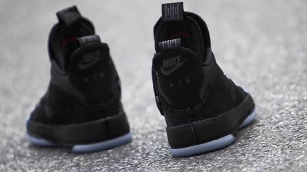 "24a1f2c8bb3a51 Nike To Release The ""AIR JORDAN 33 Utility Blackout"" - YouTube"