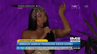 Aksi Panggung Anggun Menggebrak Panggung Opening Ceremony Asian Games 2018