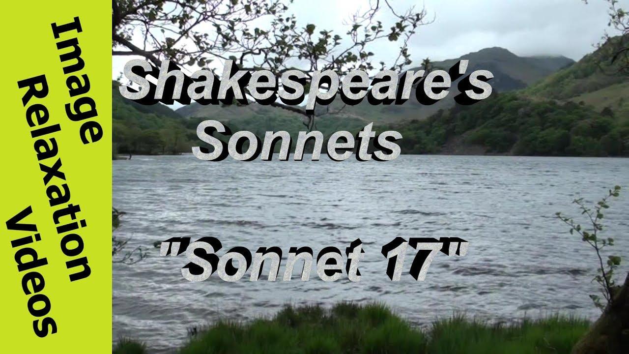 shakespeare sonnet 17