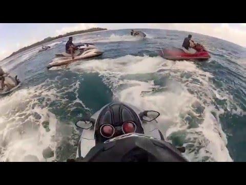 Jet Ski Junkies - Tanzania - jet ski  race lagoon