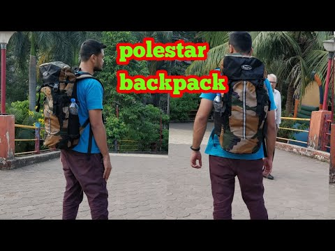 Polestar backpack | hiking | trekking | travel bag | budget travel backpack