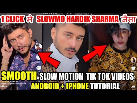 SMOOTH SLOWMO TIK TOK VIDEOS TUTORIAL ! How To Make Fast Slow Motion In TikTok Latest Trend Slowmo