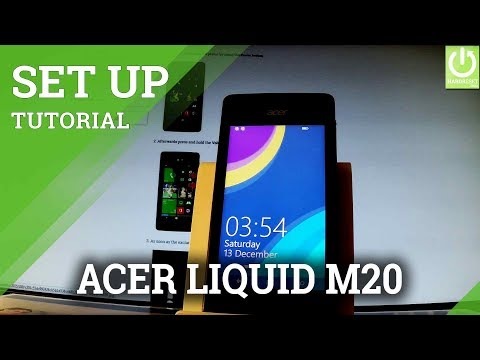 How to Add Password on ACER Liquid M220 - Windows Screen Lock