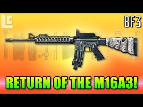 Return Of The M16A3 (Battlefield 3 Gameplay/Commentary)