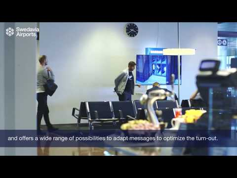 Airport Advertising in Sweden | Swedavia