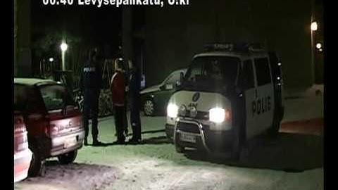 Vakka-Suomen poliisin matkassa 25.1.2007