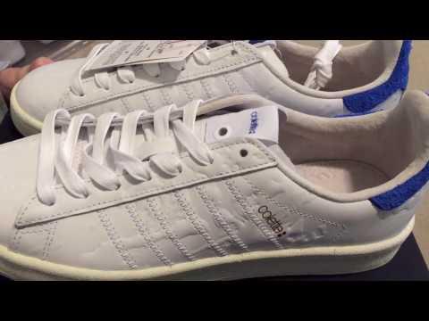 Adidas Consortium Colette x Undefeated Campus 80 Sneaker Unboxing