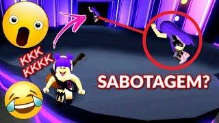 Roblox- SABOTAGEM NO DANCE OFF #TENTENÃORIR!