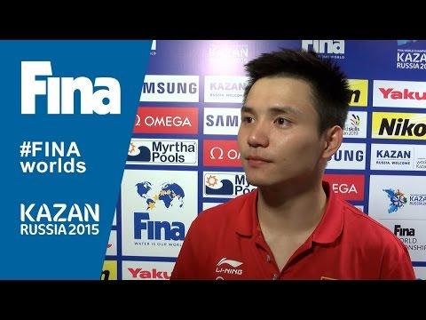 Bo Qiu: winner of Men's 10m Platform in Kazan (RUS)