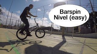 Tutorial BMX - Barspin Nivel (easy)