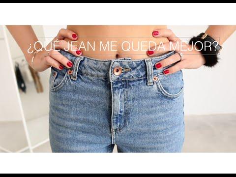 ac7ef21c7f ¿Qué tipo de jean te queda mejor  - YouTube