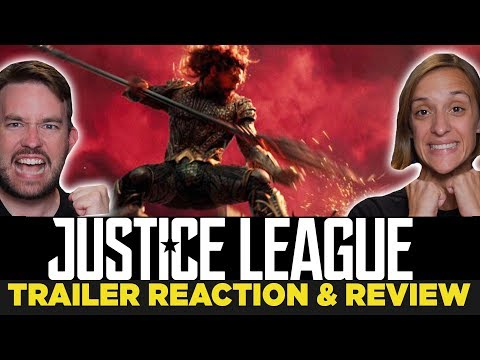 Justice League Comic Con Trailer 2017 REACTION & REVIEW!