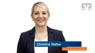 VR Bank Ostholstein Nord - Plön eG   Christine Walter   Privatkredit