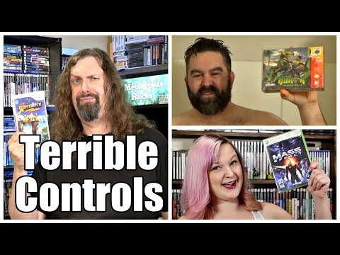 10 Great Games (Almost) RUINED by TERRIBLE CONTROLS